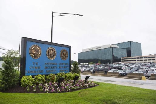 Fotografía de archivo fechada el 7 de junio de 2013 que muesta la sede de la Agencia de Seguridad Nacional (NSA) en Fort Meade, Maryland (EEUU).