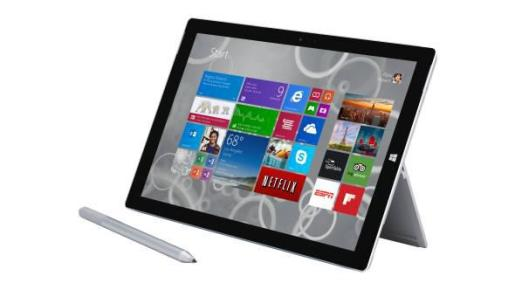 Microsoft Surface 3.