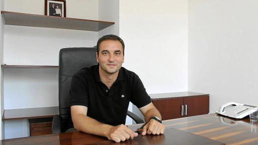El alcalde de Pollença Bartomeu Cifre.