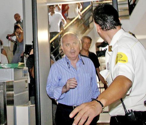 El exgerente del PP de Balears Fernando Areal, en una de sus comparecencias ante el juez Castro.