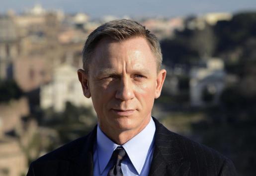 El actor británico Daniel Craig.