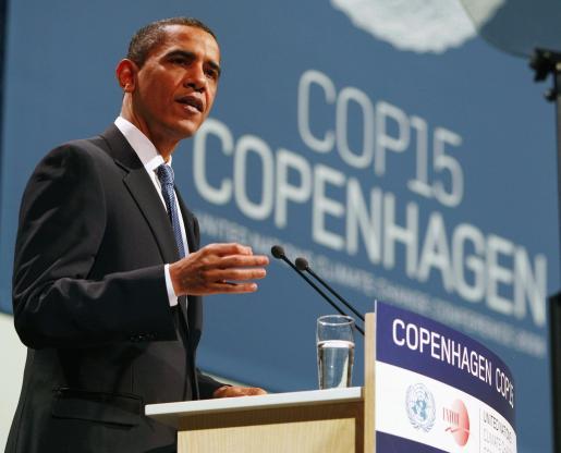 Intervención de Barack Obama en la Conferencia Mundial sobre el cambio climático (Copenhagen)
