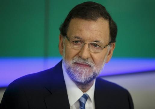 Mariano Rajoy, este martes en la reunión de la Junta Directiva del PP.