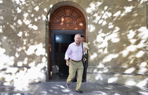 El Juez José Castro abandona los juzgados de Palma.