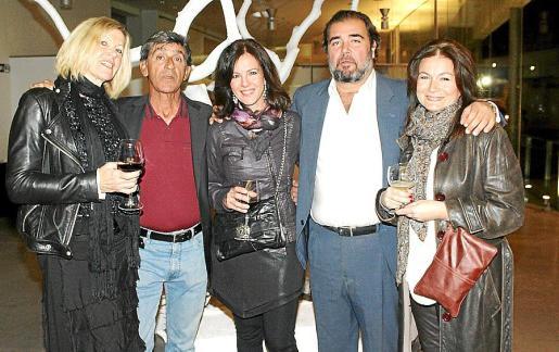 Helga Choukroun, Juan Arcenillas, Ana García, Fernando Robledo y Pilar García-Hermenegildo.