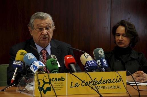 El presidente de la CAEB, Josep Oliver.