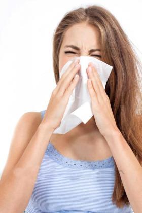 Los efectos de alergia se acentúan en primavera.