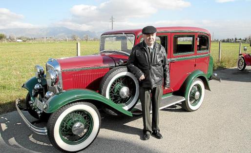Este Ford B de 1932 pertenece a la colección de Gabriel Nicolau, que lo restauró con mucho esfuerzo.