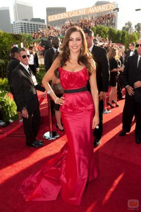 La actriz colombiana Sofía Vergara durante una gala en Los Ángeles.