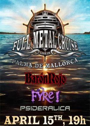 Cartel del Full Metal Cruise.