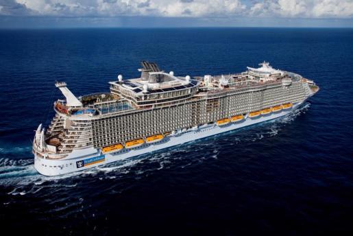 El Allure of the Seas, propiedad de Royal Caribbean International