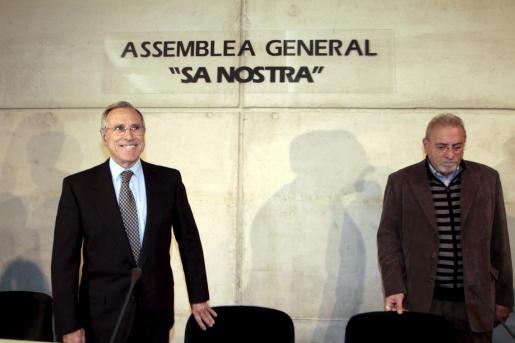 Imagen de la asamblea general de Sa Nostra.