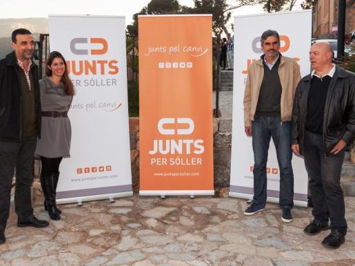 Una de las fotos de familia del proyecto de coalición al inicio de su andadura.