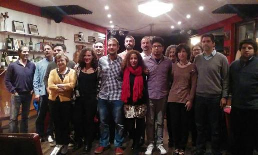 Integrantes de la lista de Som Palma al Ajuntament de Palma.