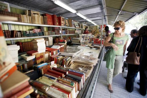 Feria del Libro Antiguo y de Ocasión de Eivissa.