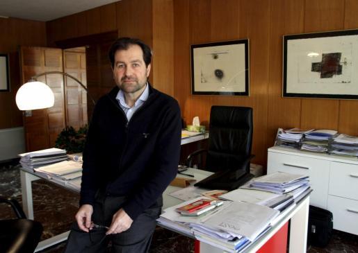 El teniente de alcalde de Medio Ambiente y presidente de la Empresa Municipal de Aguas y Alcantarillado (Emaya), Andreu Garau.