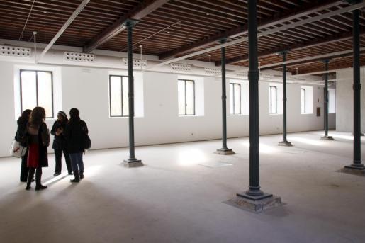 La sala más grande se destinará a talleres.
