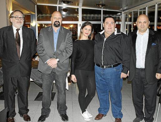 Josep Mulet, Antoni Artés, Ana Valiente, Miquel A. Colau y Santiago Cheillada.