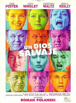 Roman Polanski se rodea de un cuarteto de brillantes actores en esta adaptación de la obra de Yasmina Reza.