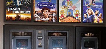 El videoclub dispone de 'cajeros automáticos'.