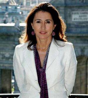 Ángeles Alarcón, ex mujer de Rodrigo Rato, y actual directora de Paradores de Turismo.
