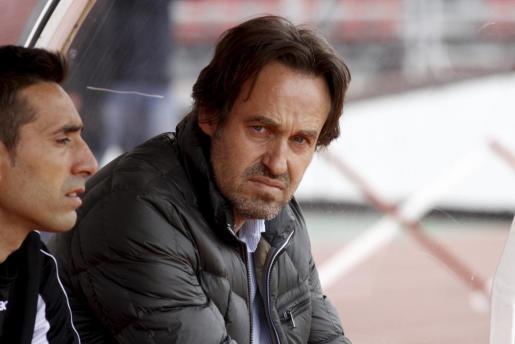 Imagen del entrenador del Real Mallorca Miquel 'Nanu' Soler.