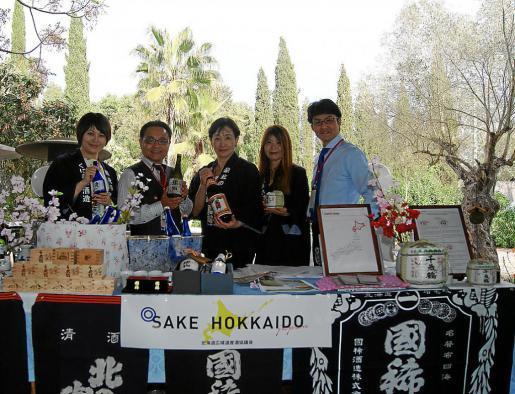 El stand de sake fue una de las novedades de este año.