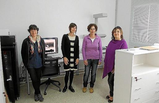 Un momento de la presentación del Arxiu d'Imatge i Só de Formentera. Foto: M.V.