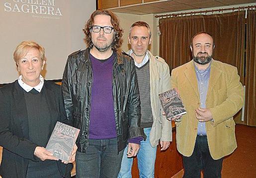 Apol·lònia Rotger, Tomàs Vibot, Gabriel Tauler y Gracià Sánchez.