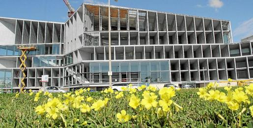 Las obras del Palacio de Congresos terminarán a finales de agosto o principios de septiembre.