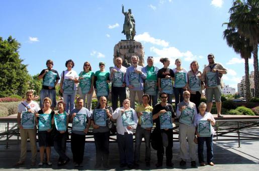 Hace un año la entidad también presentó este acontecimiento en la plaza de España.