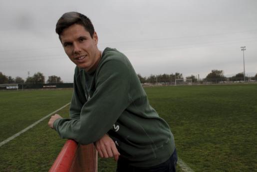 Héctor Yuste, centrocampista del Real Mallorca.