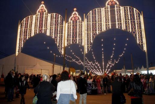 Imagen de la Feria de Abril de Palma.