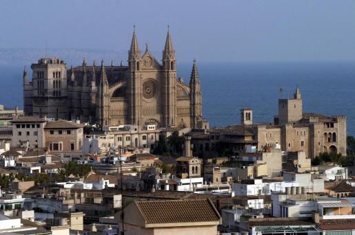 Vista de la Catedral de Palma.