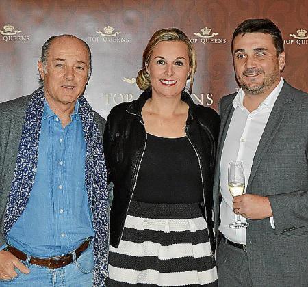 José Manuel Soto, Mayte Guirado y Martí Ferrer.