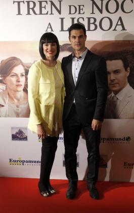 La periodista Irene Villa y su marido Juan Pablo Lauro, en una imagen de archivo.