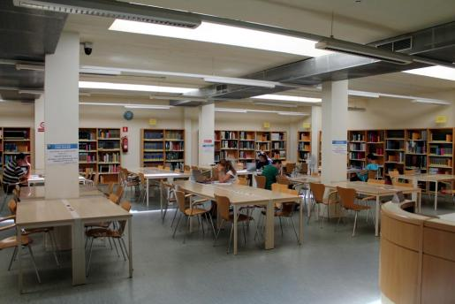 La Biblioteca Can Sales de Palma.