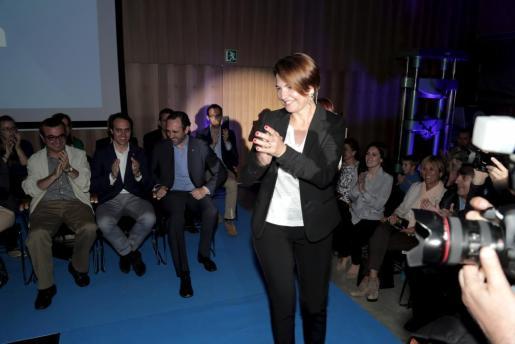 La candidata del PP a Cort, Margalida Duran, en la presentación de su programa electoral.