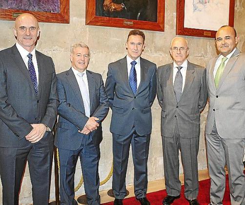 Antonio Ortiz, Manuel Fernández-Roca, Fernando Aznar, Roberto Ortiz y Julio Ayuso.