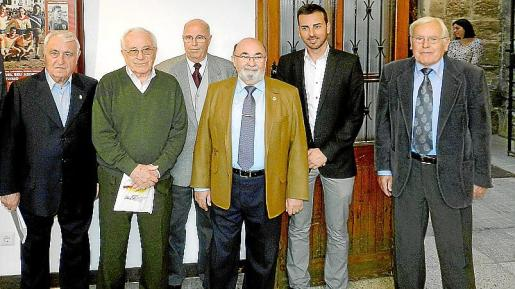 Julián Mir, Joan Forteza, Pep Ginard, Paco Llabrés, Javier Morente y José Buades.