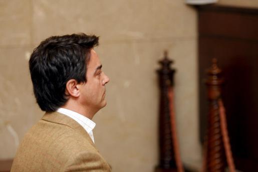 Rodrigo de Santos, durante el juicio.