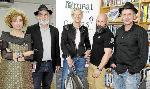 Marga González, Gabriel Mestre Oliver, Maria Adrover, Jaume Mestre y Raúl Alemany.