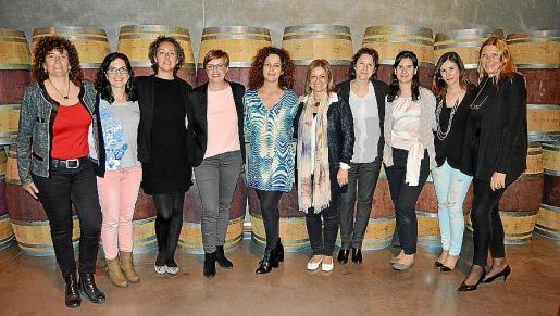 Isabel Vázquez, Noelia Margalef, Laura Vázquez, Inés Bennàssar, Irene Platko, Ana San Juan, Rosana Lisa, Marta Colom, Anabel Barceló y Karola Schulze.