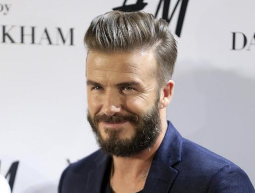 El ex futbolista inglés David Beckham.