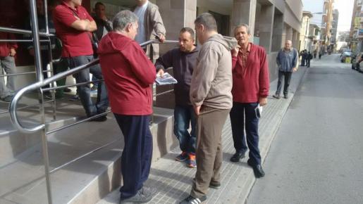 Algunos de los pasajeros del Sorrento se han alojado en el hotel Caribbean de la Platja de Palma.