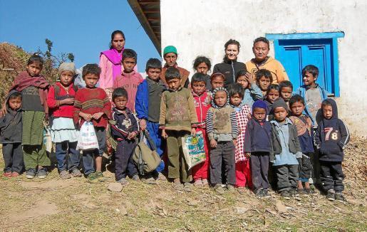 La cooperante Yolanda Ruiz trabaja desde hace años en el país asiático con la organización no gubernamental Be Human Nepal, que cuenta con varios proyectos, como el colegio en Solukhumbu. Foto: BE HUMAN NEPAL