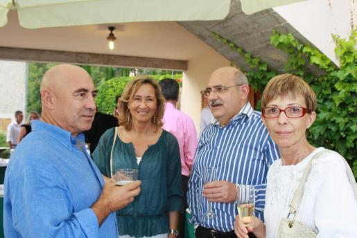 Joan Bennàssar, Cristina Escape, Lluís Maicas y Francisca Gual.