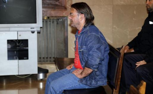 El condenado C.C.T.G., durante el juicio.