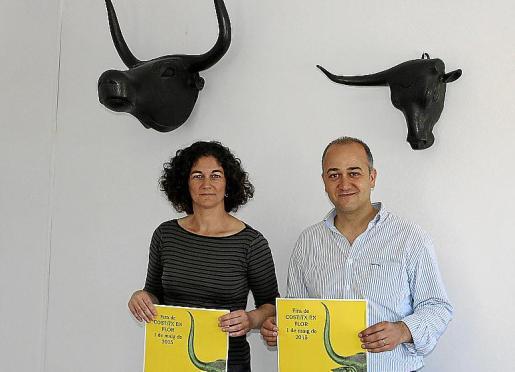 Clara Cassanyes y Antoni Salas presentaron la exposición.
