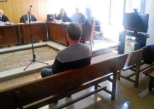 El acusado compareció este jueves en el Juzgado de lo Penal 7 de Palma.